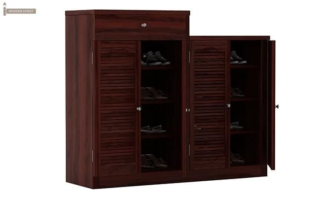 Augur Shoe Rack (Mahogany Finish)-3