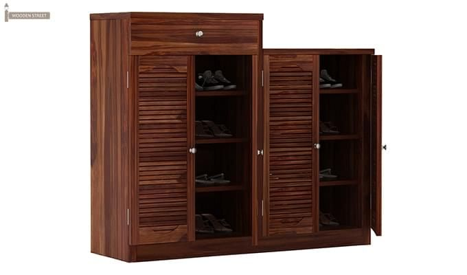 Augur Shoe Rack (Teak Finish)-3
