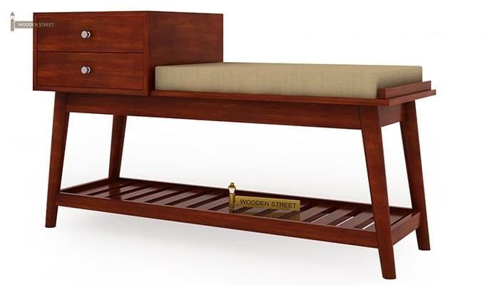 Bernstein Shoe Cabinet (Honey Finish)-3