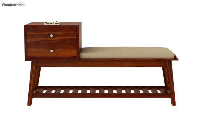 Bernstein Shoe Cabinet (Honey Finish)-4