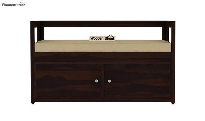 Berwick Shoe Cabinet (Walnut Finish)-3