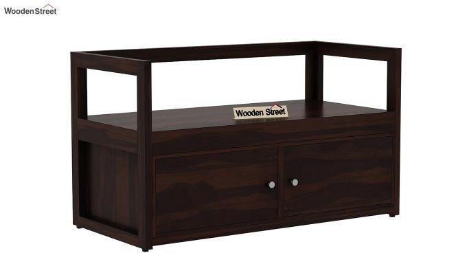 Berwick Shoe Cabinet (Walnut Finish)-4