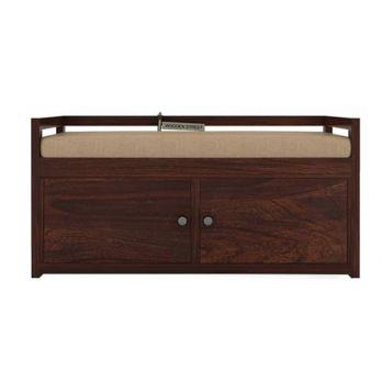 Berwick Shoe Cabinet (Walnut Finish)