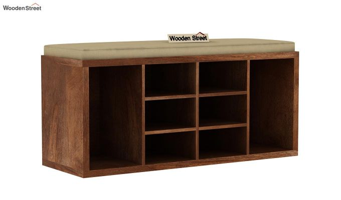 Evora Shoe Cabinet (Teak Finish)-2