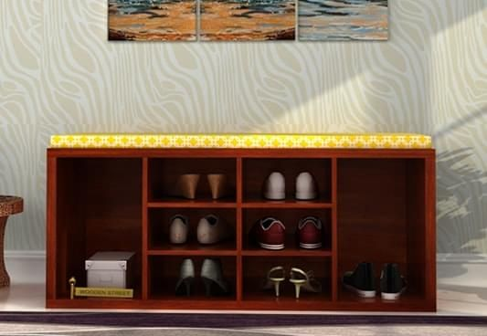 Boots Cabinet With Bench Gurgaon