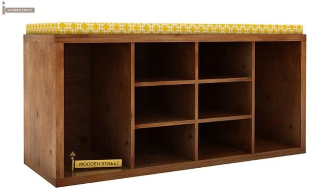 Evora Shoe Cabinet (Teak Finish)-1