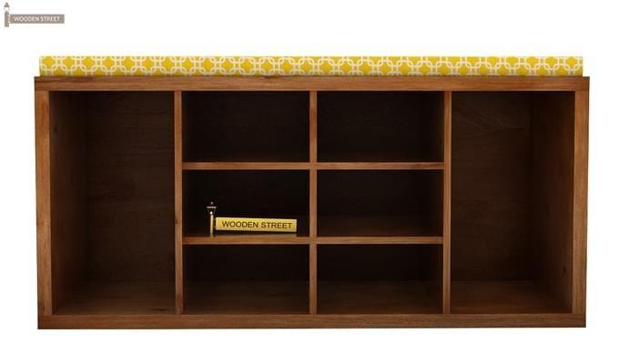 Evora Shoe Cabinet (Teak Finish)-2