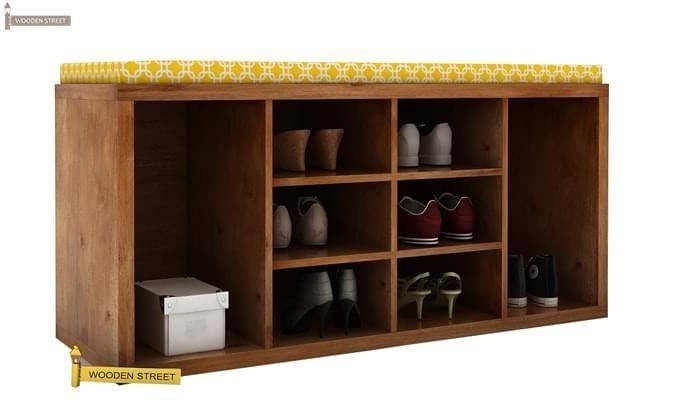 Evora Shoe Cabinet (Teak Finish)-3