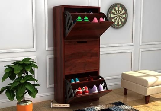 shoes rack wooden online for small spaces