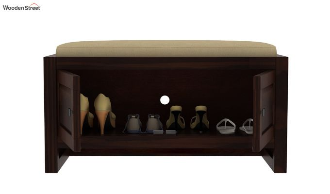 Hermes Shoe Rack (Walnut Finish)-4