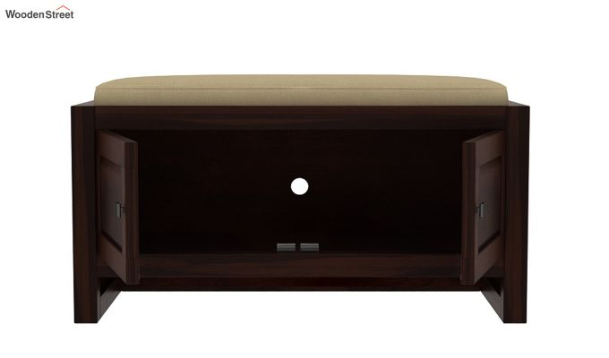 Hermes Shoe Rack (Walnut Finish)-5