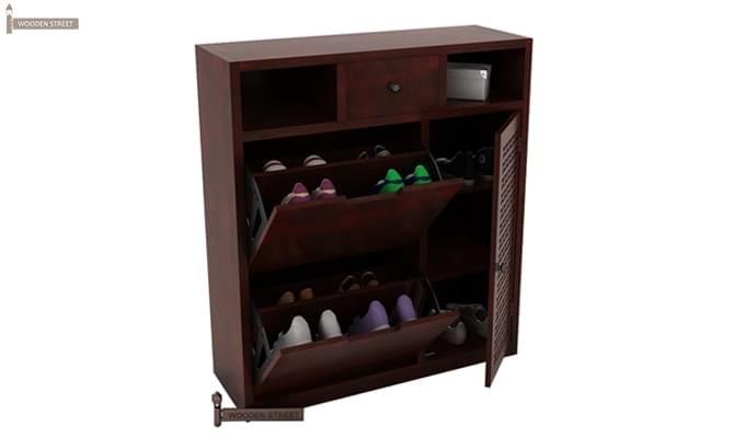 Hoff Shoe Cabinet (Mahogany Finish)-5