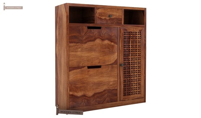 Hoff Shoe Cabinet (Teak Finish)-2