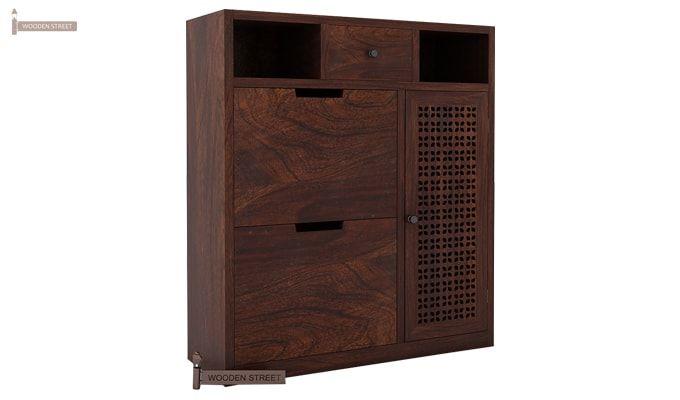 Hoff Shoe Cabinet (Walnut Finish)-2