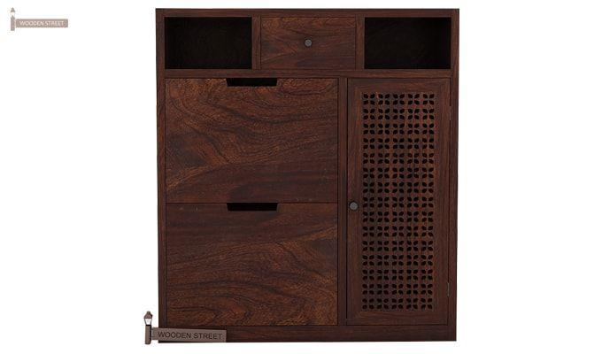 Hoff Shoe Cabinet (Walnut Finish)-3