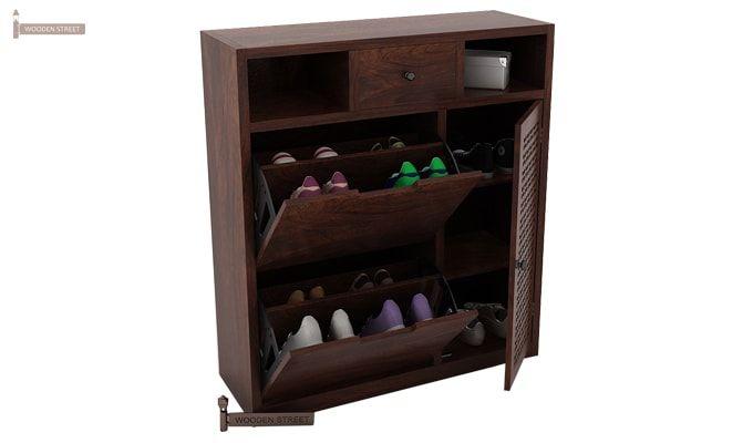 Hoff Shoe Cabinet (Walnut Finish)-1