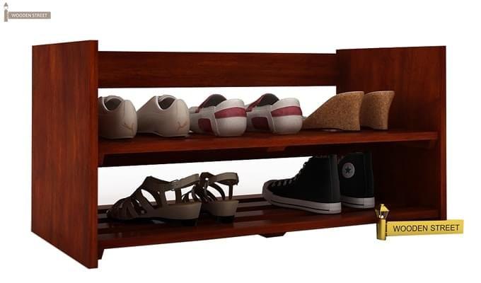 Kroger Shoe Rack (Honey Finish)-2
