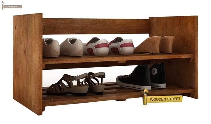 Kroger Shoe Rack (Teak Finish)-1