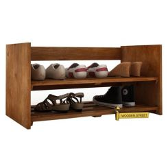 Kroger Shoe Rack (Teak Finish)
