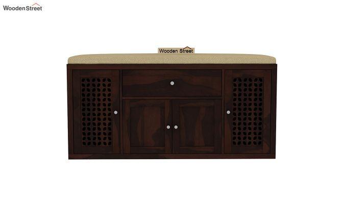 Leomore Shoe Cabinet (Walnut Finish)-3