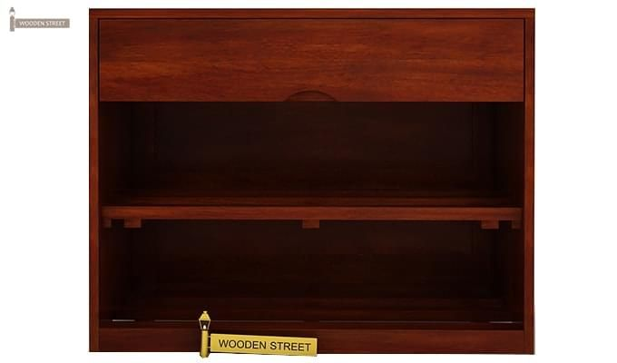 Merilyn Shoe Cabinet (Honey Finish)-3