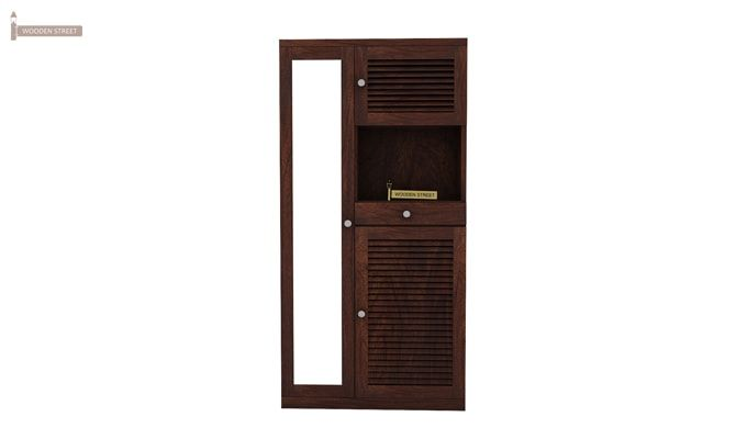 Montage Shoe Cabinet (Walnut Finish)-2