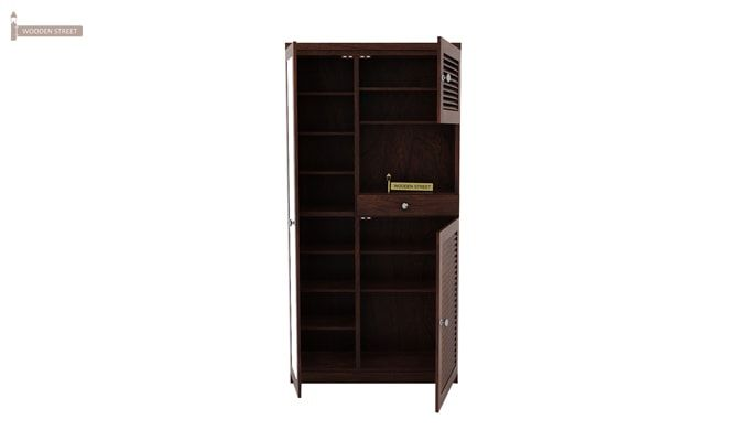 Montage Shoe Cabinet (Walnut Finish)-4