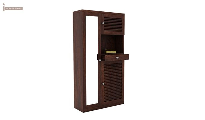 Montage Shoe Cabinet (Walnut Finish)-5