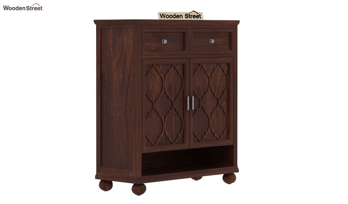 Montana Shoe Rack (Walnut Finish)-1