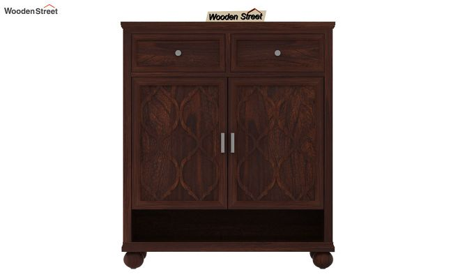 Montana Shoe Rack (Walnut Finish)-2