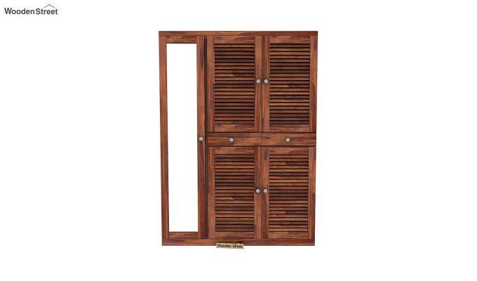 Paulin Shoe Cabinet (Honey Finish)-3