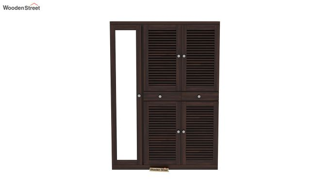 Paulin Shoe Cabinet (Walnut Finish)-3