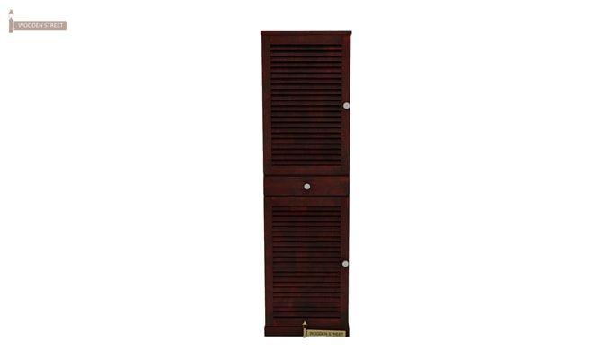 Radius Shoe Cabinet (Mahogany Finish)-3