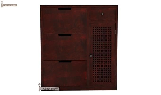 Rae Shoe Cabinet (Mahogany Finish)-3