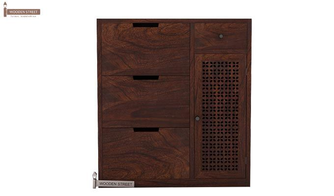 Rae Shoe Cabinet (Walnut Finish)-2