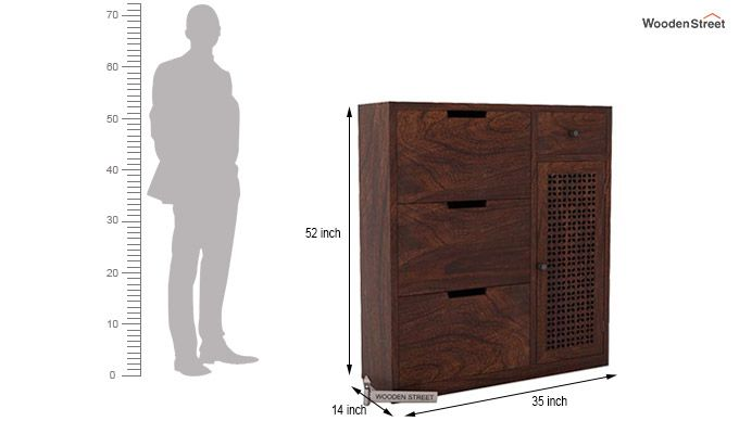 Rae Shoe Cabinet (Walnut Finish)-4