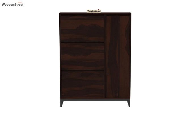 Ray Shoe Rack (Walnut Finish)-4