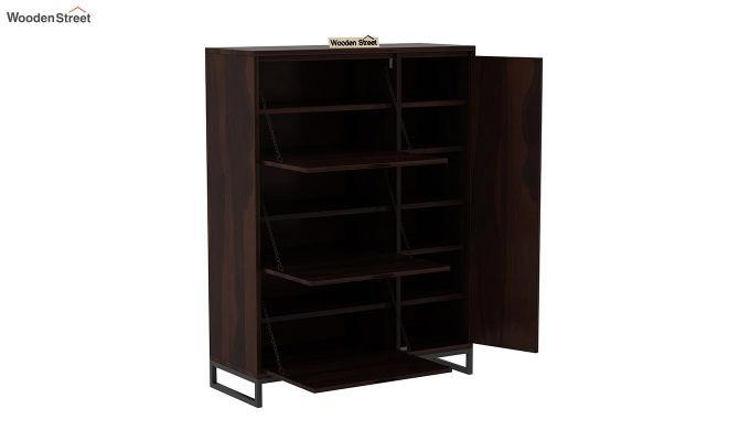 Ray Shoe Rack (Walnut Finish)-6