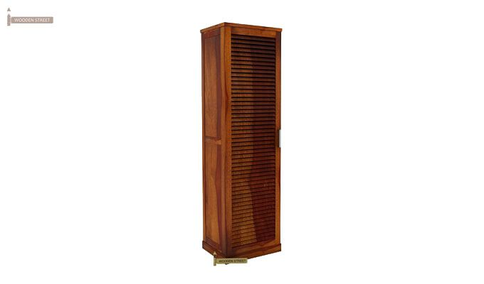 Reo Shoe Cabinet (Honey Finish)-2
