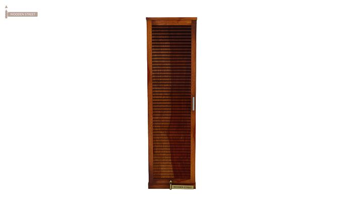 Reo Shoe Cabinet (Honey Finish)-3