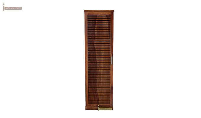 Reo Shoe Cabinet (Teak Finish)-2