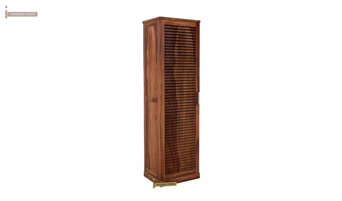 Reo Shoe Cabinet (Teak Finish)-3