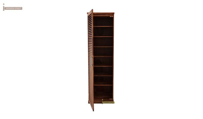 Reo Shoe Cabinet (Teak Finish)-1