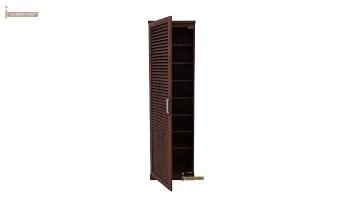 Reo Shoe Cabinet (Walnut Finish)-4
