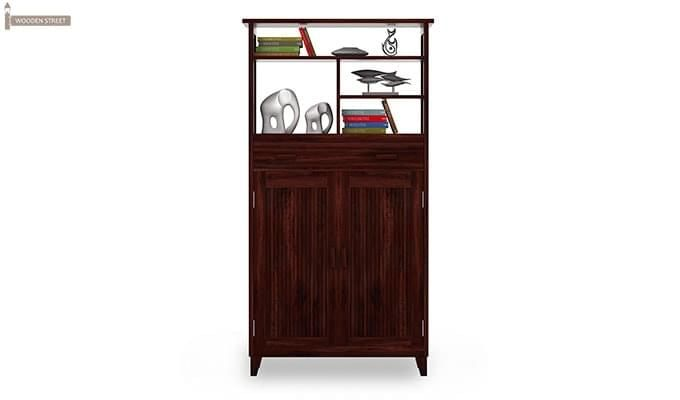 Rosler Shoe Rack (Mahogany Finish)-3
