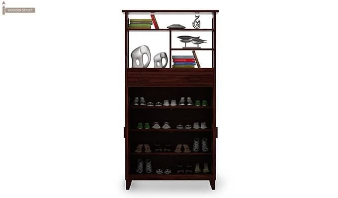 Rosler Shoe Rack (Mahogany Finish)-4
