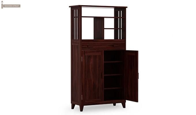 Rosler Shoe Rack (Mahogany Finish)-5