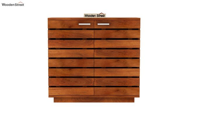 Rowan Multi Utility Cabinet (Honey Finish)-3