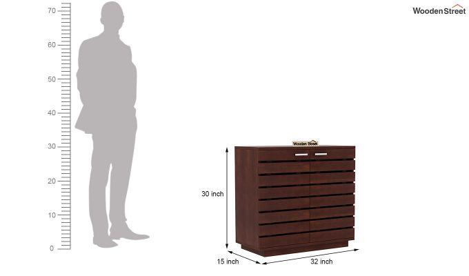 Rowan Multi Utility Cabinet (Walnut Finish)-5