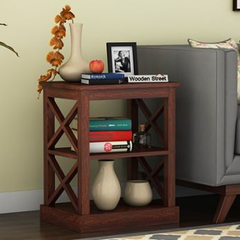 Wooden Side table for home, shop end tables in Mumbai, Delhi India
